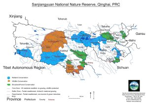 Sanjiangyuan nature reserve map tashi Tsering 09
