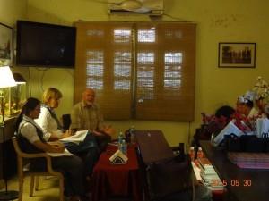 Tse Tsomo Ilse Kohler-Rollefson GL at Foreign Correspondents club