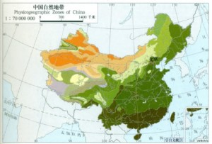 plant zones of China 2010