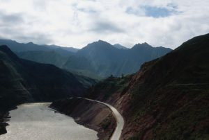 Za Chu Mekong gorge S of Chamdo