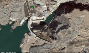 Longyangxia Ma Chu dam from above pic