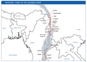 Salween dam plans IRN 2014