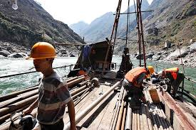 Songta dam construction 2