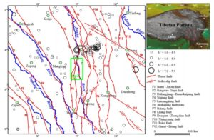 Suwalong dam earthquakes & fault lines