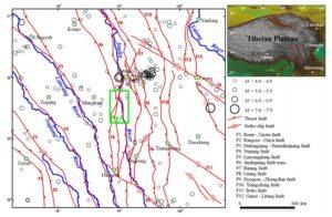 Suwalong dam earthquakes & fault lines