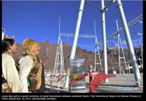 Tibet-Sichuan grid fur hatted Khampa delirious Xinhua Nov 2014