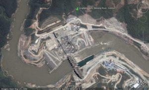 Za Chu Mekong Jinghong dam