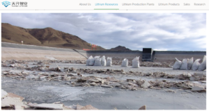 lithium Drangyer Tsaka Tianqi extraction screenshot