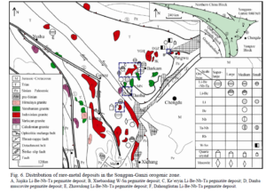 lithium & rare earth deposits of Kham 2015