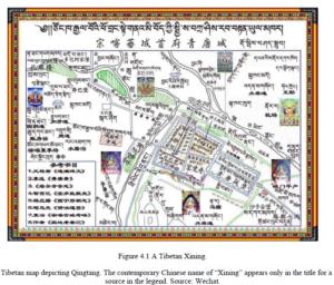 Xining as a Tibetan town